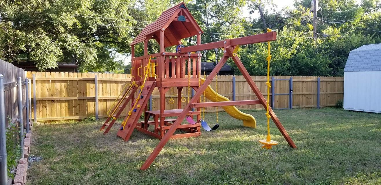 The Benefits of Owning Your Own Backyard Swing Set